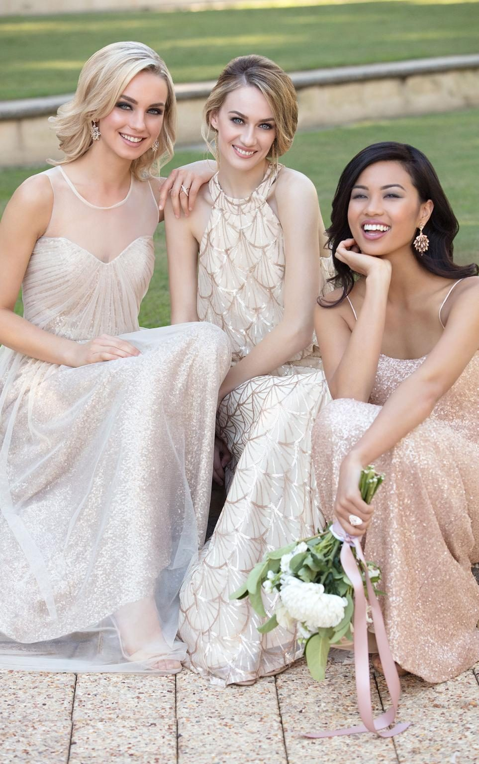 5325feb2 Sorella Vita Nouveau Sequin Bridesmaid Dresses | Saddha