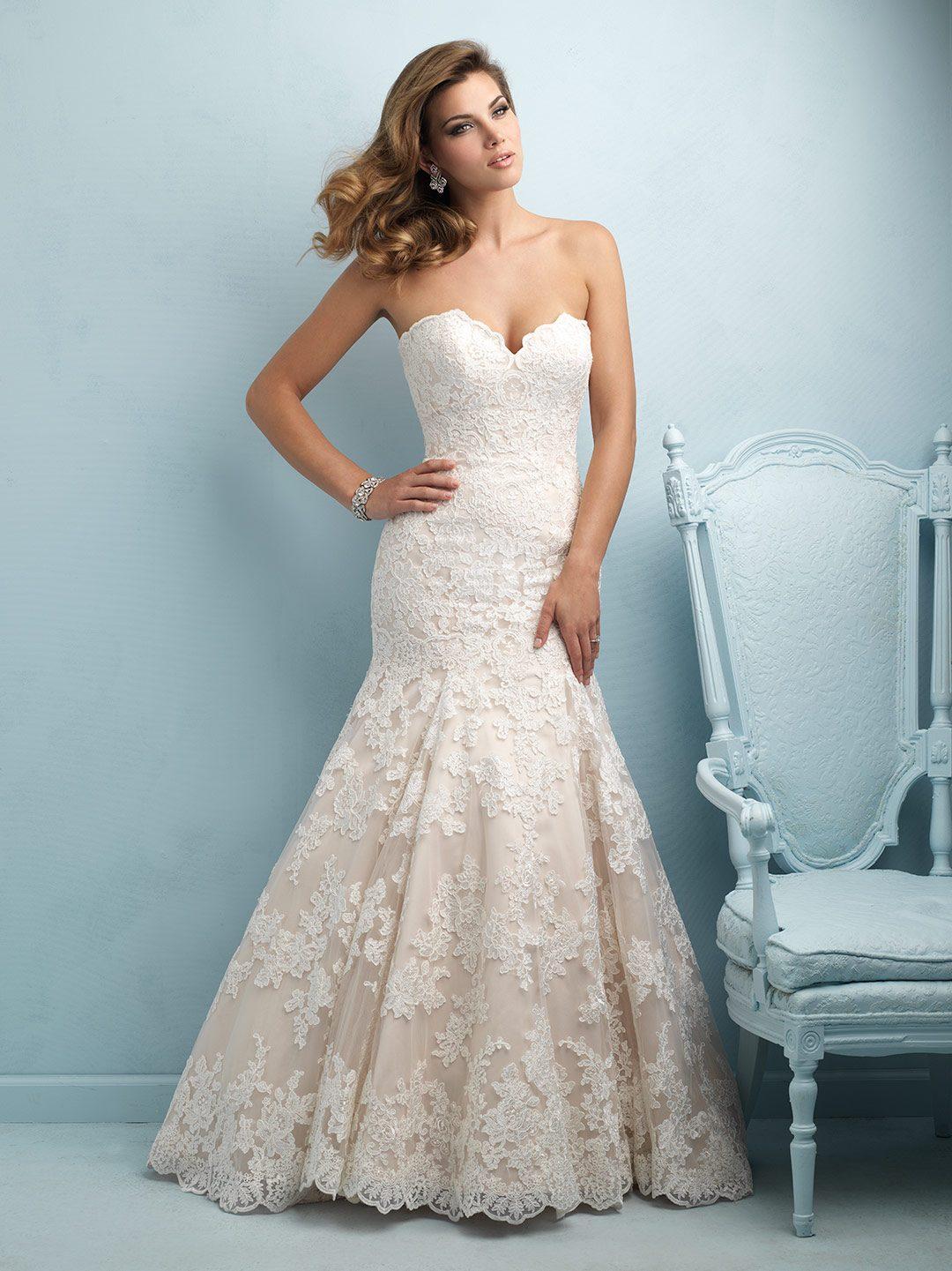 Allure Wedding Dresses.Allure Bridal 9215