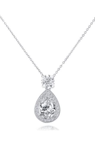 Crystal Drop Necklace – 1513