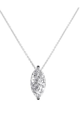 Silver Necklace 1556
